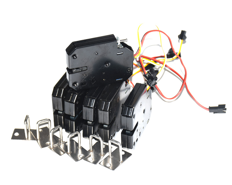 5pcs With Feedback Electronic Door Lock Latch 12V/2A For Cabinet Locks/solenoid Locks/drawer(connector Optional)
