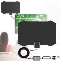 USB очень сильный сигнал Крытый цифровой ТВ HD ТВ Приём антенна для 4 К УКВ