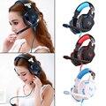 KOTION CADA G2100 Função de Vibração de Graves Profundos Fone De Ouvido de Jogos de Computador fone de Ouvido Fone de Ouvido com Microfone para PC Gamer Diodo Emissor de Luz