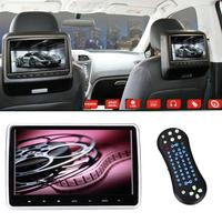 10,1 HD ЖК сенсорный экран автомобиля авто подголовник подушка ЖК монитор DVD/CD/USB/SD плеер Пульт дистанционного управления авто аксессуары