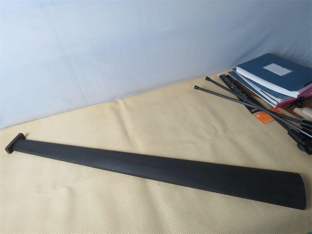 Violin Parts & Accessories Sports & Entertainment 1pcs Nice Indonesia Ebony Black Cello Fingerboard 1/2,round