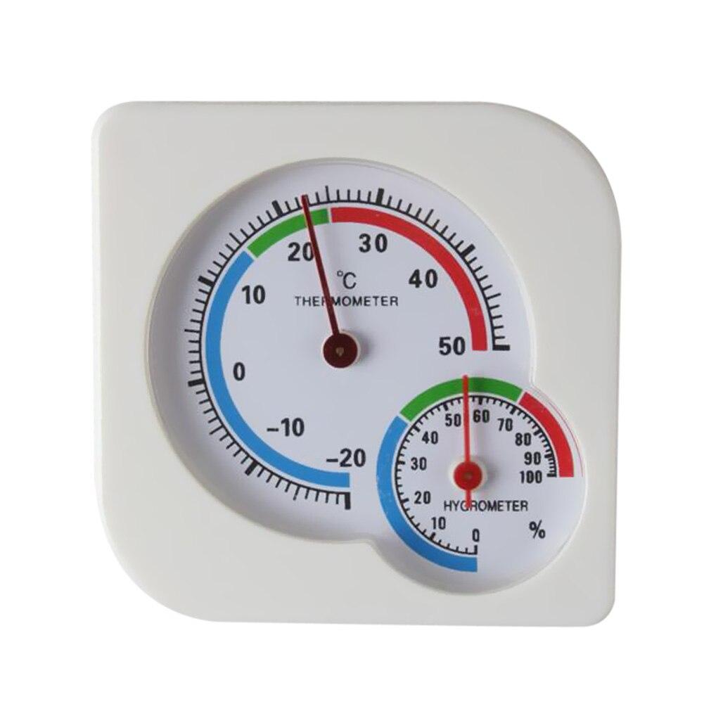 Mini analogique intérieur extérieur humide multifonction thermomètre mètre de la température pour bébé maison chambre