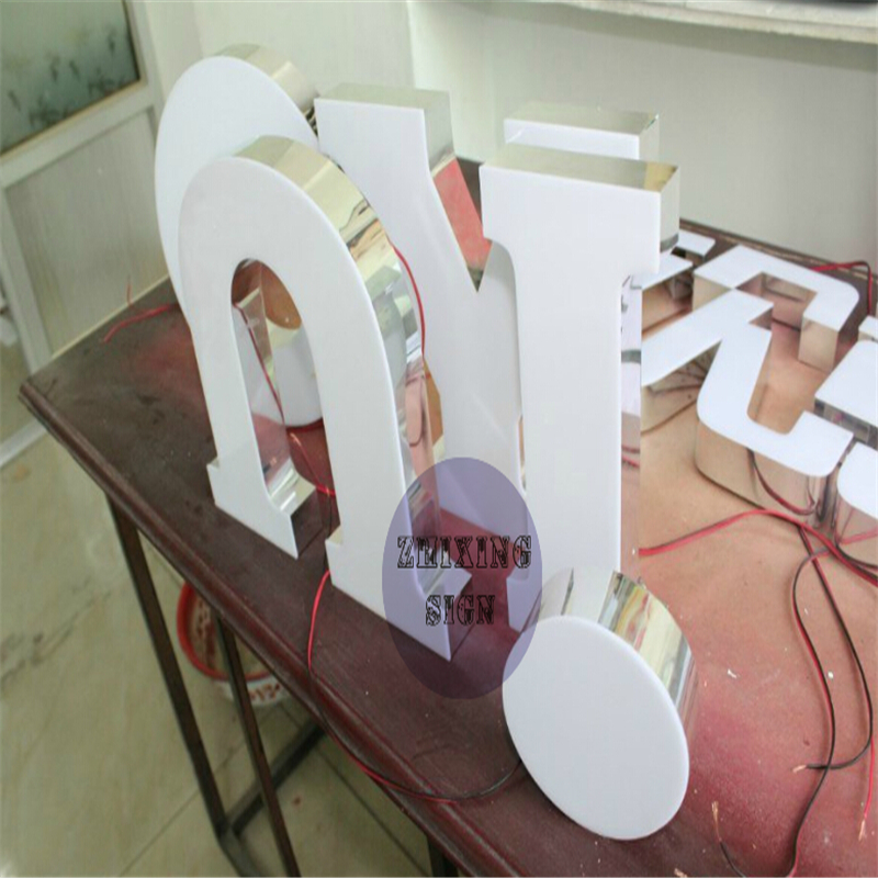 Factoy Outlet 2015 Newest Products Outdoor Acrylic LED Channel Letters Without The Edge