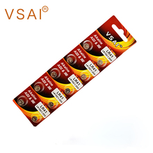 10pcs/pack VSAI 1.5V AG3 LR41 392 LR736 Alkaline Button Cell  Batteries for Laser Pointer, Hearing Aids