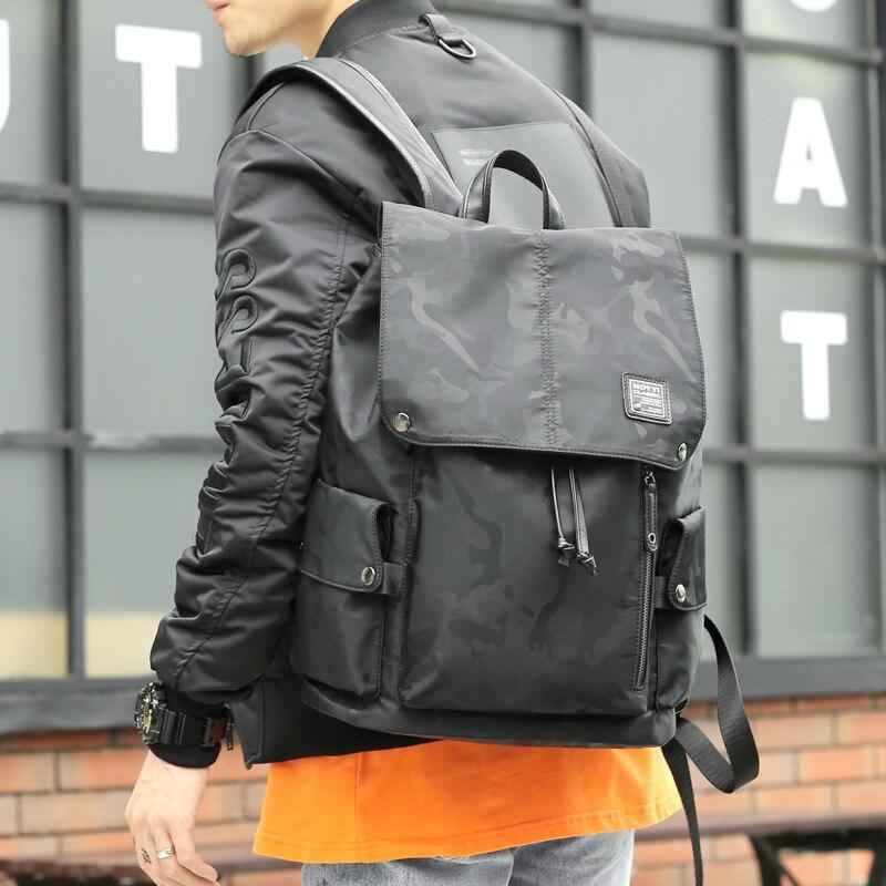 Vintage Backpacks Men / Women School Travel Bag Large Canvas Backpack Capacity Berchirly