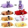 Plush Pillow 43*33cm Five Nights at Freddy's plush toys FNAF Freddy Fazbear soft cushion dolls For kids figure toys