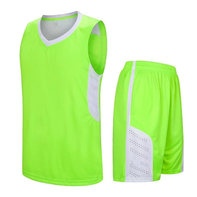 7f9742ca0 Neon Yellow sleeveless basketball cheap throwback jerseys hot selling  basketball jerseys LD-8093