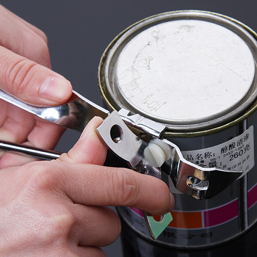 Stainless steel multifunctional can opener portable bottle opener the tin canned multi-purpose tinopener kai bottle opener