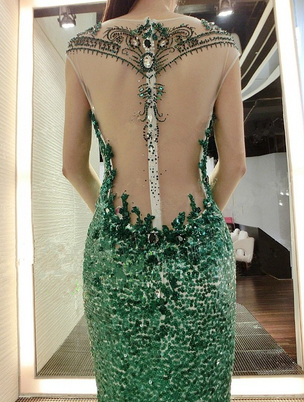 9d21d94d83 Hot Sale 2015 Evening Dresses Online Shopping See Through Back Aqua ...