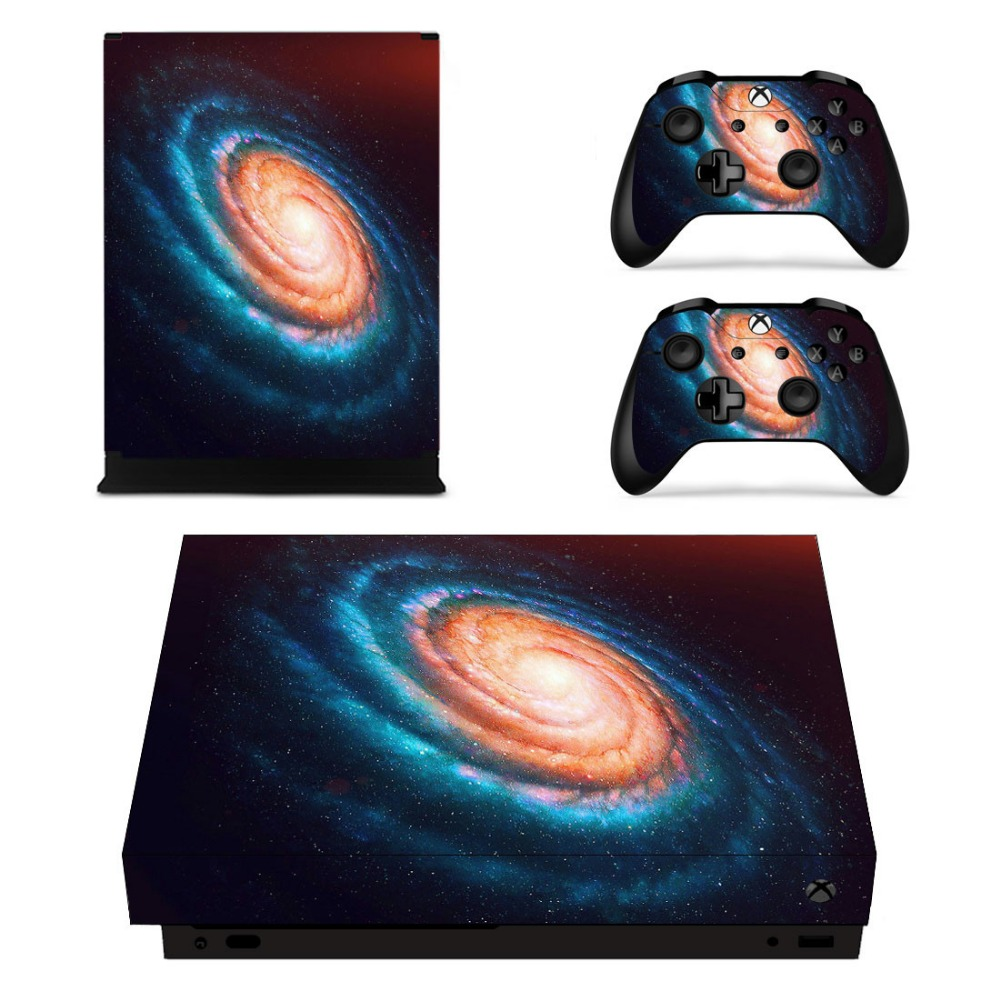 PS4 PLAYSTATION 4 CONSOLE STICKER BLACK BLUE FLORAL SWIRL SKIN 2 X PAD SKINS