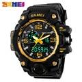 Skmei 1155 Men Digital Watch Big Dial Dual Display Military Wristwatch Waterproof Auto Date Calendar Sports Watches