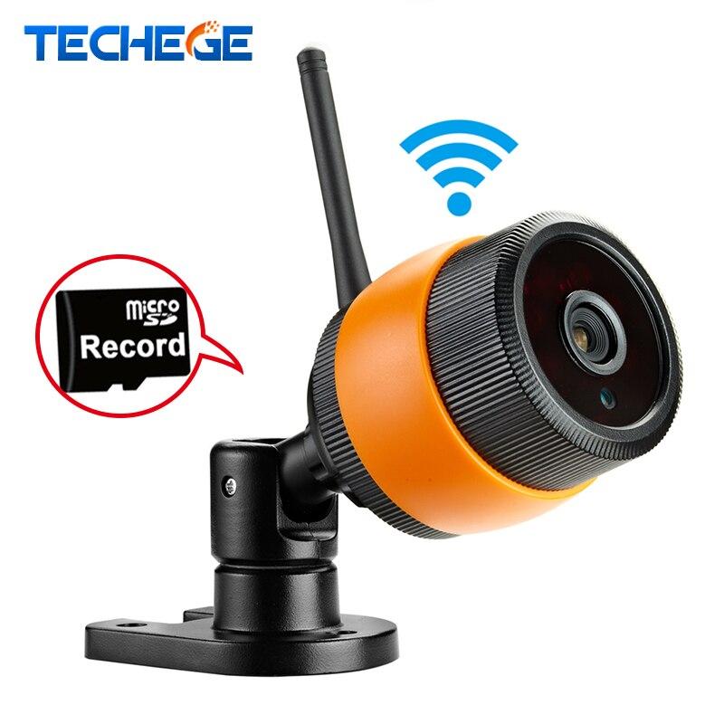 ФОТО Techege 720P WIFI IP Camera HD Network MINI wifi camera 3.6MM lens Night Vision P2P Outdoor /Indoor CCTV Camera Motion Detection