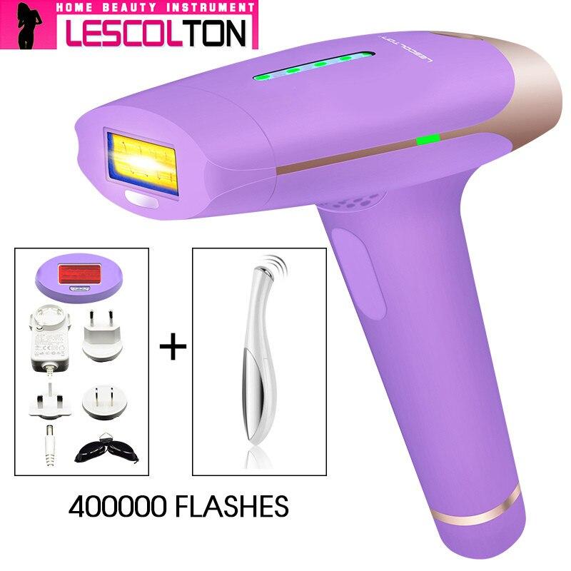 2018 Populær Purple Lescolton Laser Epilator Hårfjerning Photon - Barbering og hårfjerning - Foto 3