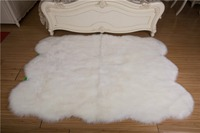 Faux Fur rugs Luxury Faux Sheepskin Carpet for livingroom Bedroom Seat Pad Fur Plain Fluffy Soft Area Rug Tapetes Sofa cushion
