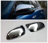 Fit For Toyota RAV4 RAV 4 2013 2014 2015 ABS Chrome Side Door Rearview Mirror Cover Trims Cap Rear View Mirrors Cover Decoration