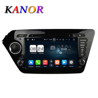 KANOR Octa Core Android 6 0 2G 32G Car Video Player For KIA K2 RIO 2012