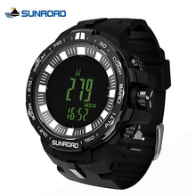 SUNROAD 861 Weather Forecast Altimeter Barometer Thermometer Outdoor Sports Women Watches Compass Waterproof Fishing Watch Men
