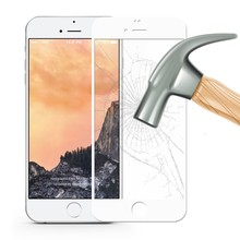 9H 0.26mm 3D Tempered Glass Film for iPhone Apple6/ 6 Plus Screen Protector for iPhone 7 / 7 Plus Black White Film Glass Case