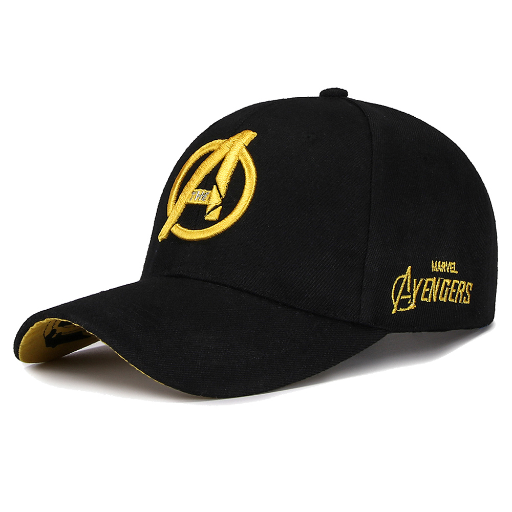 High Quality Men's   Baseball     Cap   Snapback   Caps   for Adult Hip Hop Casual Outddoor Hat Unisex Hats Women Gorras Marvel Letter hat