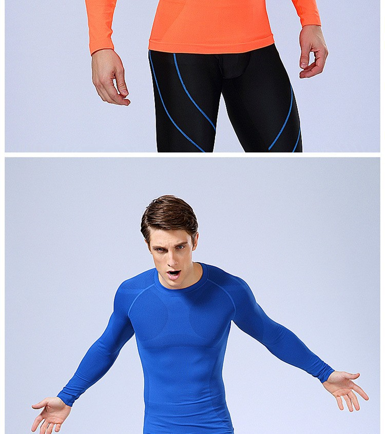 87053810548db MEN tight shirt long sleeve slimming underwear clothing body shapers ...