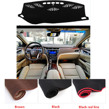 Fit For Cadillac XTS Before 2015 Year Anti-Slip Car Dashboard Covers Dashmats Pad Auto Shade Cushion Carpet Protector