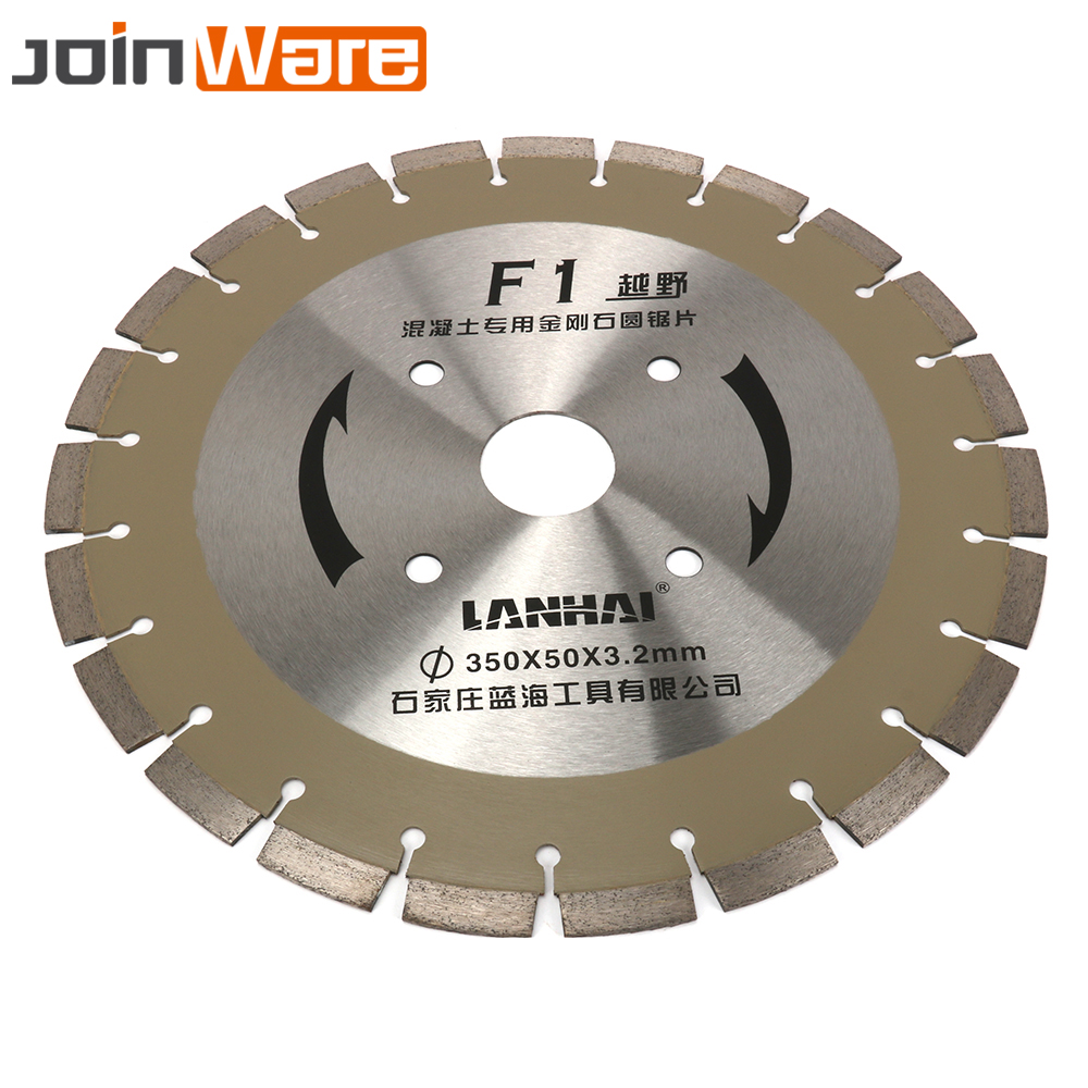 350MM 14 Welded Diamond Segmented Saw Blade Brazed For Granite Marble Concrete Road Cutting Tools Aperture 50MM Free Shipping power trains набор с краном 48627