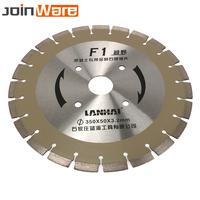 350MM 14 Welded Diamond Segmented Saw Blade Brazed Disc Blades For Granite Marble Concrete Road Cutting Tools Aperture 50MM