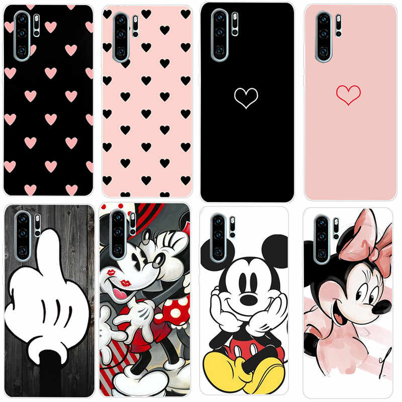 Soft TPU Cases For Huawei P30 Pro luxury Silicone Phone Case Cover For Huawei Y6 Prime Y5 2018 P20 lite Pro P Smart 2019 Coque