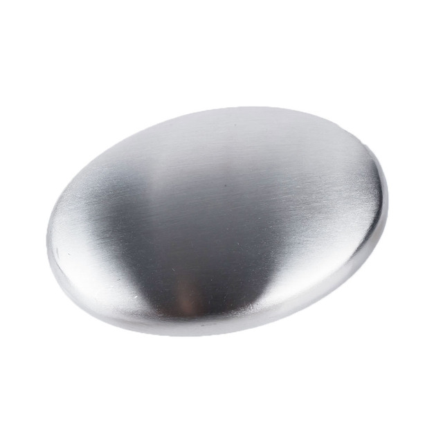 1 Pcs Remove Odor Bactericidal Stainless Steel Soap Kitchen Bar Eliminating Remove Odor Soap 3