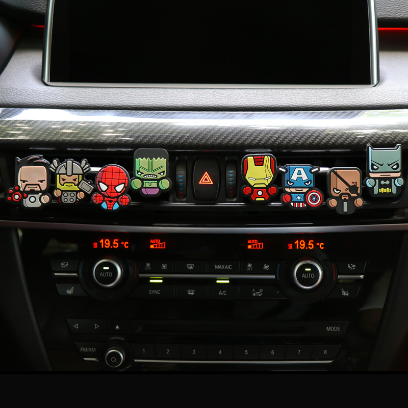 Interior Accessories Considerate Cartoon Air Freshener Car Styling Perfume The Avengers Marvel Style For Air Condition Vent Outlet Superman Batman Fashion Cool