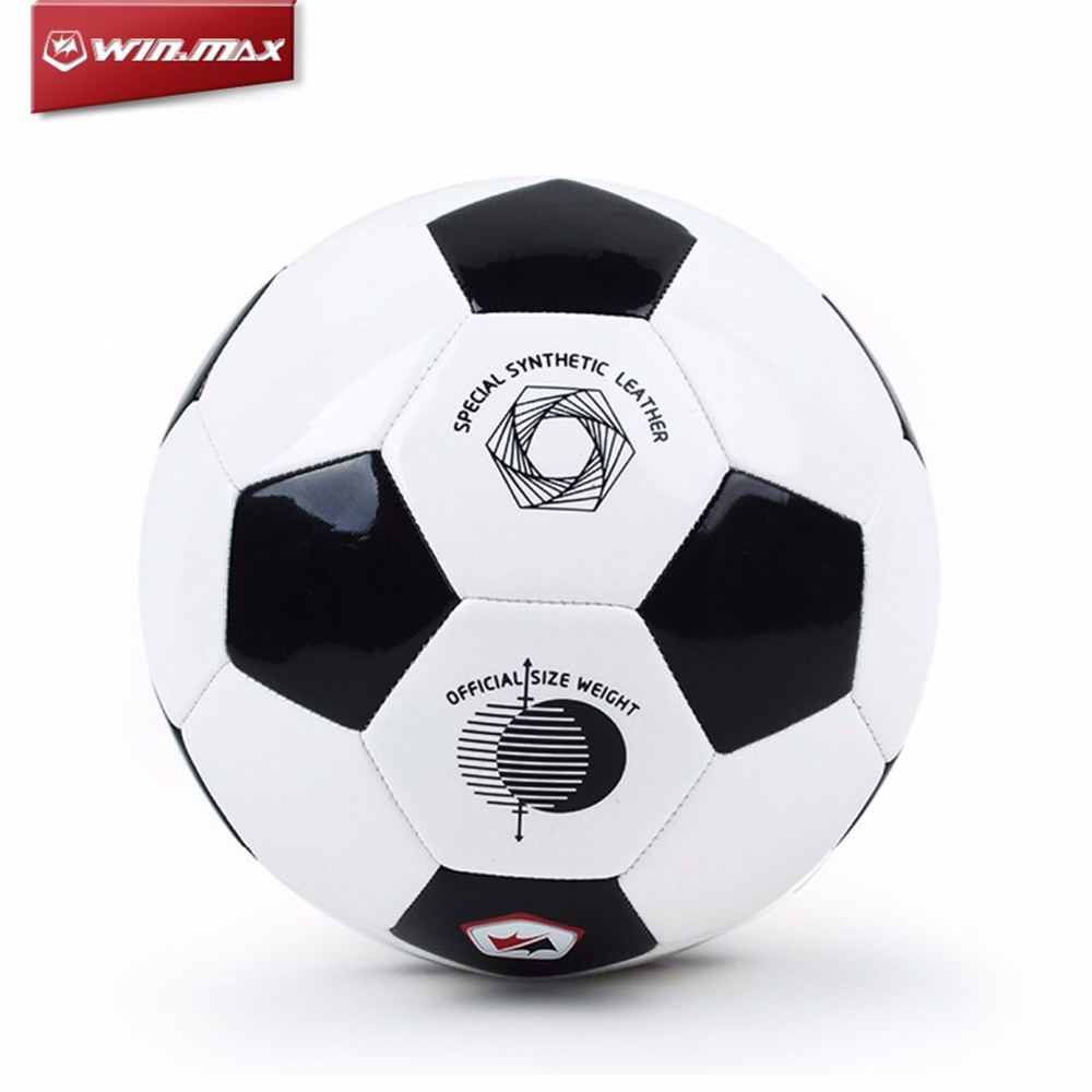 Balón de fútbol de alta calidad oficial nuevo tamaño 2018 2018 Balón de fútbol resistente al deslizamiento de PVC Balón de fútbol sin entrenamiento