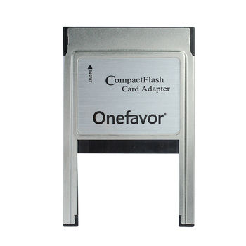 Promotion!!! onefavor CF Compact Flash Card to PCMCIA Reader Adaptor type | and type || For Laptop