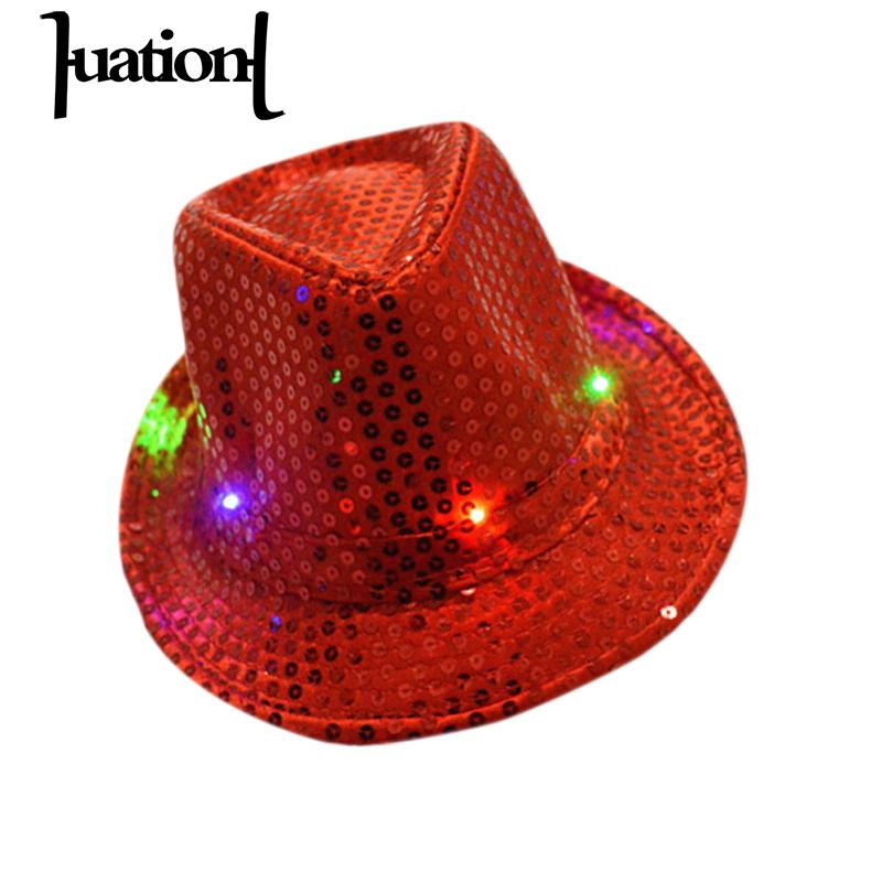 Buy fedora led and get free shipping on AliExpress.com 5c36ff7b6f76