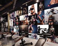 Beibehang Benutzerdefinierte große neue foto tapete gym gymnastik boxen hintergrund wand tapete für wände 3 d papier peint tapete 3d
