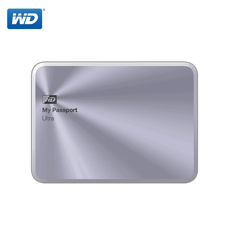 WD My Passport Ultra Metal External Hard Drive Disk HD Portable HDD 1TB High Capacity SATA USB 3.0 Storage Device Original