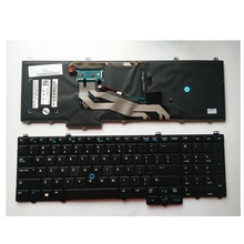 New Keyboard FOR DELL e5540 15-5000 US With mouse pole With Backlit laptop keyboard