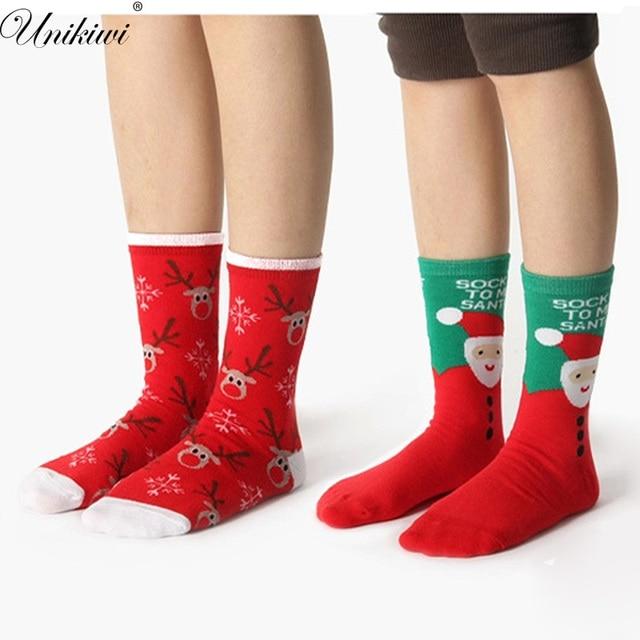 womens novelty funny christmas socksladies girls cotton cartoon elk snowman santa - Funny Christmas Socks