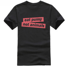 """Eat Pussy Not Animals"" Vegan Men's T-Shirt"