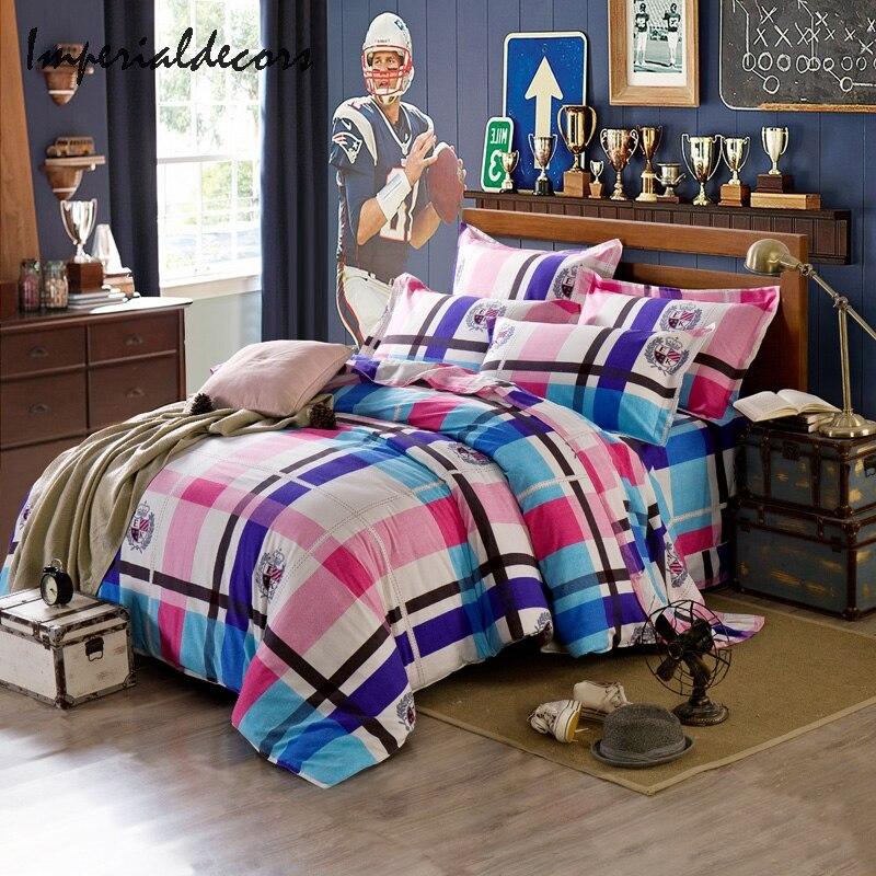 Popular Tartan Bedding Sets-Buy Cheap Tartan Bedding Sets