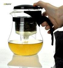 1 STÜCK 1200 ML 1600 ML Mode Dauerhaft Glas Teekanne Einfache Hitzebeständige Klare tee wasserkocher tee-topf haushalts Teekanne Set J1059