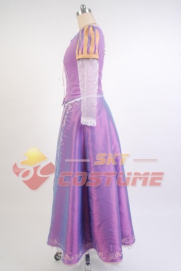 Niñas enredadas Princesa Rapunzel Disfraz Las Mujeres Adultas Visten - Disfraces - foto 3