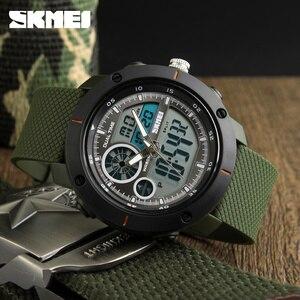 Image 1 - SKMEI New Outdoor Sports Watches Luxury Brand Digital Quartz Watch Men Waterproof Military Army Wrist Watch Relogio Masculino
