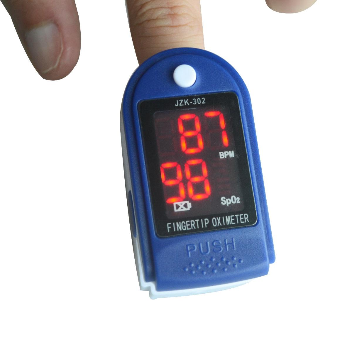 Fingertip Pulse Oximeter Diagnostic-tool Digital PR PI Heart Rate Monitor Blood Oxygen Saturation Tester Oximetro De Pulso 5Pcs oled pulse finger fingertip oximeter blood spo2 pr heart rate monitor