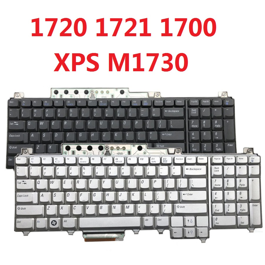 Original Laptop Keyboard for Dell Inspiron 1720 1721 1700 XPS M1730 Genuine for Dell 1720 1721 1700 XPS M1730 Notebook KeyboardOriginal Laptop Keyboard for Dell Inspiron 1720 1721 1700 XPS M1730 Genuine for Dell 1720 1721 1700 XPS M1730 Notebook Keyboard