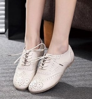 womens flat oxford shoes low price