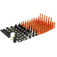 For Motorcycle Motorbike Fairing Bolts Spire Speed Fastener Clips Screw Spring Nuts For RC 390 390