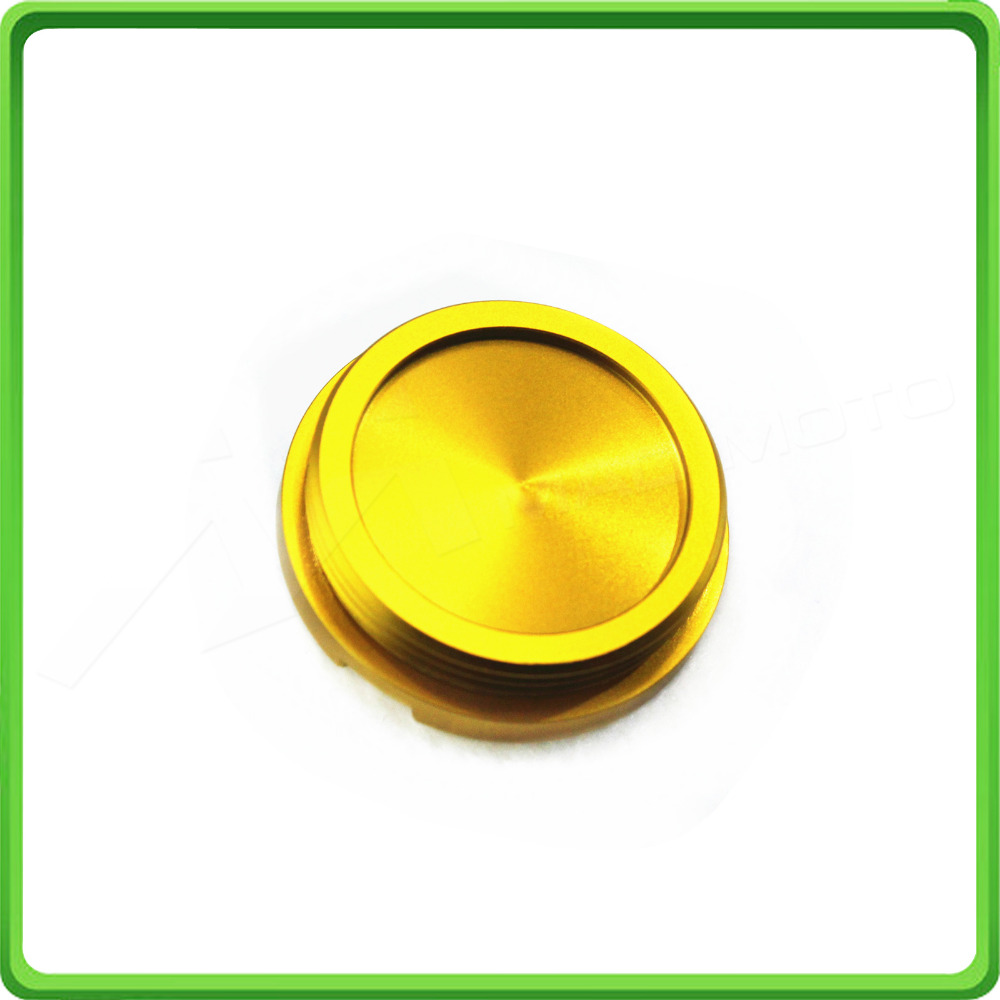 Engine Oil Filter Tank Cap For BMW R1200GS 2004 - 2016 R1200 GSA ADV Adventure Water-Cooled 2004 - 2016 Gold