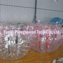 Хорошая цена ПВХ материал костюм-пузырь, шар мяч для футбола, бампер мяч в прокат на продажу, Crazy Loopy мяч