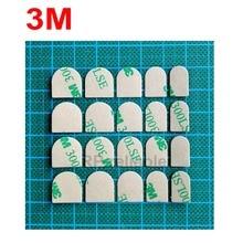 10 листов(20 наклеек s/sheet) 3 м 300LSE 9495LE липкие накладные ногти для дизайна ногтей Двухсторонняя клейкая лента прозрачная