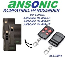 ALLISTER 9931-318 9931T-318 Universal Cloning Remote Control Duplicator 318 MHz